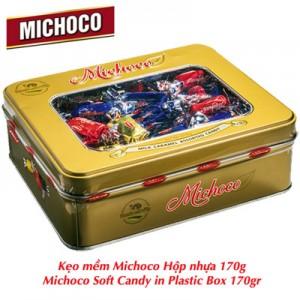 Kẹo mềm Michoco hộp thiếc 200 gam