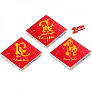 Kẹo cứng Phát Tài Phúc Lộc Thọ hộp nhựa 120 gam