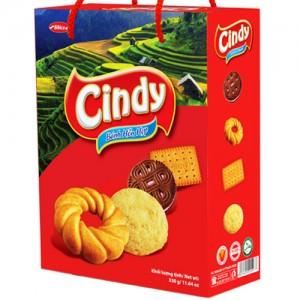 Bánh hỗn hợp Hộp giấy Quai xách Cindy Tây Bắc 330 gam