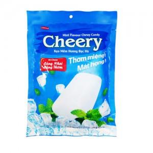 Kẹo mềm Cheery hương Bạc hà túi 90 gam