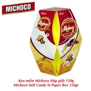 Kẹo mềm Michoco hộp giấy lồng đèn 150 gam