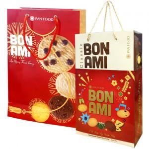Bánh hỗn hợp Hộp giấy Quai xách Bon Ami 448 gam
