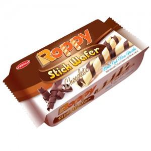 Bánh Quế kem Sôcola Roppy túi 132 gam