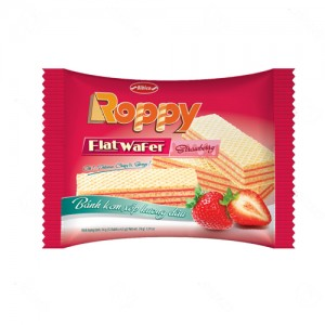Bánh kem xốp hương Dâu Roppy gói 54 gam