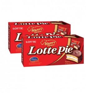 Bánh Lotte Pie hộp 180 gam