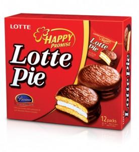 Bánh Lotte Pie hộp 360 gam