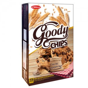 Bánh Goody Chip Lúa mì nguyên hạt 180 gam