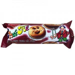 Bánh quy kem hương Cà phê Chú Hề 95 gam