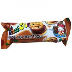 Bánh quy kem hương Sôcôla Chú Hề 95 gam