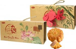 Bánh Trung thu trái cây Bibica 240g