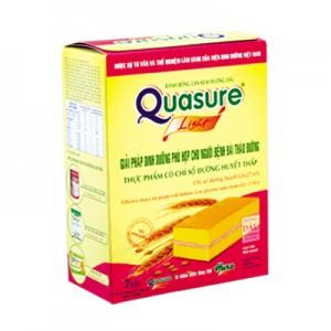 Bánh Bông lan Quasure Light Dâu hộp 126 gam