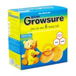 Bánh Growsure Tự nhiên 168 gam