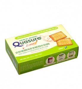 Bánh Quy Quasure Light Sữa 140 gam