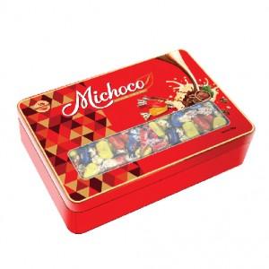 Kẹo mềm Michoco hộp thiếc 350g
