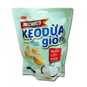 Kẹo cứng Michoco Dừa giòn nước cốt dừa túi 100 gam