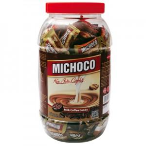 Kẹo cứng Michoco sữa cà phê hũ nhựa 600 gam