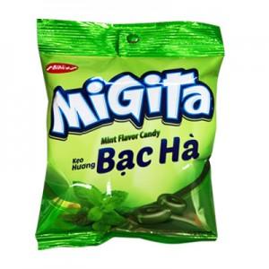 Kẹo cứng Migita Bạc Hà túi 140 gam