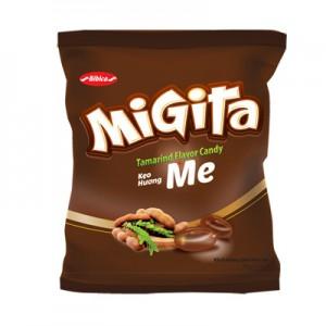 Kẹo cứng Migita Me túi 140 gam