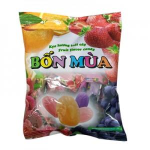 Kẹo hương Trái cây Bốn Mùa Quai xách túi 70 gam