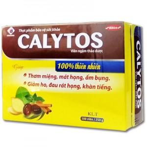 Kẹo thảo dược Calytos hộp giấy 250 gam