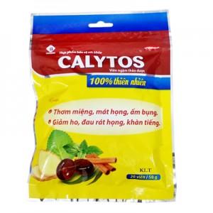 Kẹo thảo dược Calytos túi 50 gam