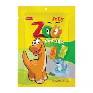 Kẹo dẻo Zoo áo dầu 200 gam