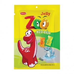Kẹo dẻo Zoo áo dầu túi 500 gam