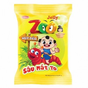 Kẹo dẻo Zoo Sâu Mắt To 24g