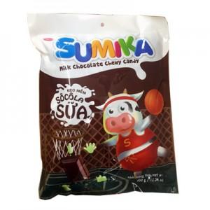 Kẹo mềm Sumika Socola sữa túi 140 gam