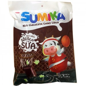 Kẹo mềm Sumika Socola sữa túi 350 gam