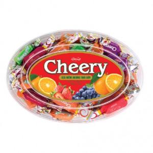 Kẹo mềm Cheery hộp nhựa Oval 150 gam