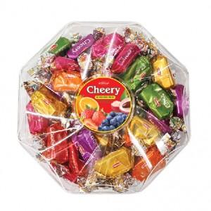 Kẹo mềm Cheery hộp nhựa Lục giác 150 gam