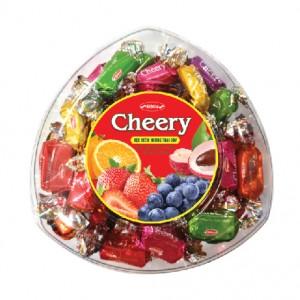 Kẹo mềm Cheery hộp nhựa Tam giác 150 gam