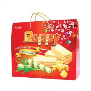 Bánh hỗn hợp Roppy hộp giấy quai xách 504 gam