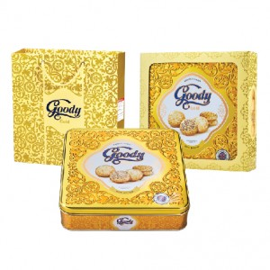 Bánh hỗn hợp hộp thiếc Goody Gold 450 gam